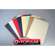 Okładki do bindowania kolorowe gładkie 100 szt. OPUS