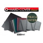 Okładki twarde Opus O.Hard Cover Classic, z napisami: Praca Magisterska, Praca Licencjacka, Praca Dyplomowa, Praca Inżynierska