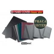Okładki Opus O.Hard Cover Classic Slim, z napisami: Praca Magisterska, Praca Licencjacka, Praca Dyplomowa, Praca Inżynierska