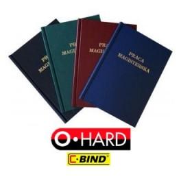Okładki kanałowe twarde Opus O.Hard - Praca dyplomowa magisterska licencjacka - op. 10 szt.