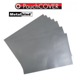 O.POUCH Cover Paper do laminacji z okładkami O.POUCH Cover w kolorze srebrnym op. 25 szt.