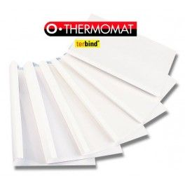 Okładki do termobindownicy A4 op 25 szt. Termomat Opus