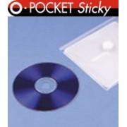 OPUS POCKET STICKY CD samoprzylepne kieszonki na płyty CD/DVD z rzepem