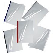 Okładki kanałowe O.EASY COVER Double Clear, rozmiary i kolory do wyboru
