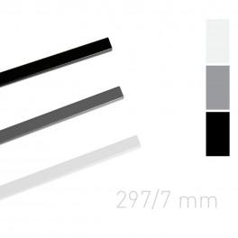 Kanał lakierowany 7mm/297mm biały - O.Simple channel 25 szt.
