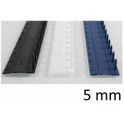 Listwy zamykane O.CLICK 5mm niebieski - 50 szt.